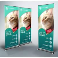 80*180cm Size Roll Up Banner, Adjustable Aluminum New Type Banner Stand Manufactures