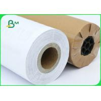FSC Certified 70gsm 80gsm CAD Inkjet Plotter Paper Roll Size A1 A0 For Drawing Manufactures