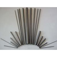 Durable H6 Polished Solid Carbide Rods , Cemented Carbide Rods For End Mills Manufactures