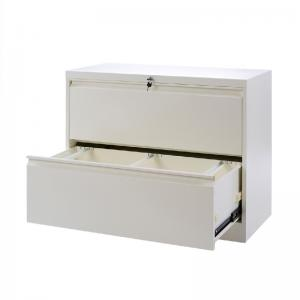 Multi Layer A4 RAL Metal Lateral File Cabinets 2 Drawer Manufactures