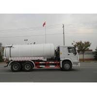 19CBM LHD 336HP Sewer Vacuum Truck 6×4 For Oil Chemical Sewage Tank Sediment Suction Manufactures