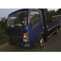 Single Row HOWO Light Duty Trucks ZZ1047C3414C1R45 With A/C, Two Seats Manufactures