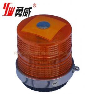 China Rotating Revolving Magnetic Hazard Warning Amber Strobe Light Beacon on sale