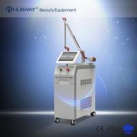 Medical CE approval Double Crystal Double Lamp Q Switched Ndyag Laser for Tattoo Removal Manufactures