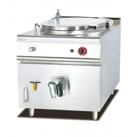 Gas Soup Kettle / Gas Deep Indirect Heating Boiling Pan Manufactures