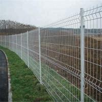 200*50mm Dark Green PVC Coated 3D Curved Wire Mesh Fence for Farm Manufactures