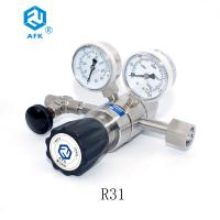 China High Quality Two Stage High Pressure Stainless Steel Gas Pressure Regulator with CGA580 on sale
