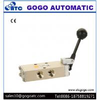 Manual Air Control Valve Automatic Reset 1/4 Port Size SNS Type 0.15 - 0.9mpa Working Pressure