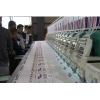 Automatic 9 needle 20 head High speed Embroidery Machine for Monogram / Logo Manufactures