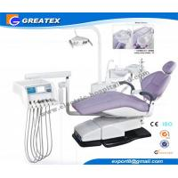 Top Mounted Dental Chair Unit With Floor Cabinet LCD Display On Instrument tray Manufactures
