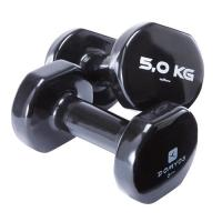 Colorful PVC Coating Gym Dumbbells Hand Weights For Total Body Workout Manufactures