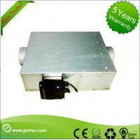High Efficiency Centrifugal Inline Duct Booster Fan , Inline Bathroom Extractor Fan Manufactures