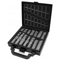 99pcs Twist Titanium Drill Bit Sets for Drilling Metal , DIN 338 Standard HSS Drill Bits Manufactures