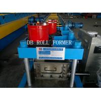 Cr12 Punching materia C Shape Steel Purlin Roll Forming Machine Manufactures