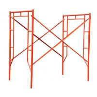 Panited Galvanized Coated Frame Scaffolding Popular in Construction