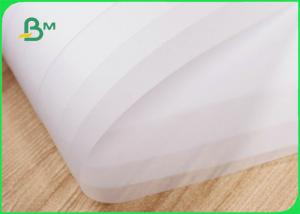 Good Permeability Semi - Translucent Tracing Paper 63gsm 73gsm For CAD Drawing Manufactures