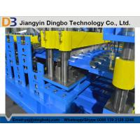 5.5kw Glazed Steel Tile Forming Machinewith 10 - 15 m / min Forming Speed for Steel Panel Roofs and Walls Manufactures
