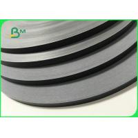 15MM 60G Food Grade Safe Solid Black Straw Paper Roll For 197 * 6mm Straws Manufactures