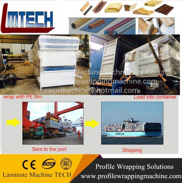 furniture making veneer vacuum membrane press machine