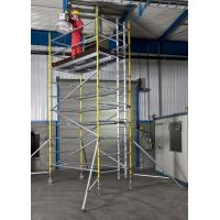 Cheap Lightweight Professional Aluminium Mobile Scaffold Flexibility Versatility For Inspecting Roof for sale