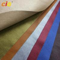 Waterproof Knitted Synthetic Leather Material For Bag Leather / Shoes Manufactures