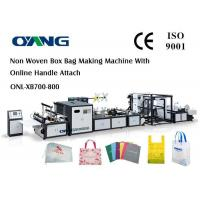 Quality Computerized Fully Automatic Non Woven Bag Making Machine 18kw Power 220V / 380V wholesale
