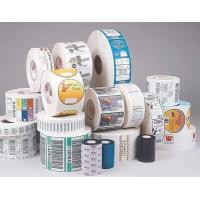 Gloss Lamination Security Sticker Labels , Adhesive Printable Tamper Proof Labels Manufactures
