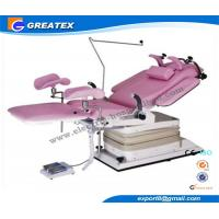 Advanced Electric Hydraulic Gynecological Chair Obstetric Table with Shadowless lamp Manufactures