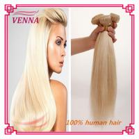 Cheap Factory price blond remy hair weave hot selling hair products for 2015 for sale