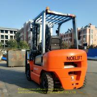 Automatic Diesel Forklift Truck Work Visa 2.5 Ton With 3 Stage Mast Side Shift Manufactures