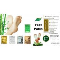 Relax Health Broadcast Japanese kinoki cleansing detox foot pads patches natural Manufactures