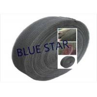 Pure Titanium Filter Knitted Mesh 0.2 / 0.25mm Wire For Sea Water Desalination / Air Filter Manufactures