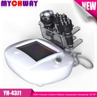 Professional 40K+Vacuum Suction+Bipolar Quaropolar Sextupolar 3D RF Radio Frequency Slimming Manufactures