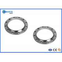 Forged ANSI B16.5 / B16.47Stainless Steel Slip On Pipe Flanges FF RTJ RF Flange 1/2' -6' Manufactures