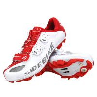 Buy cheap Colored Bicycle Racing Shoes Clipless Shoes Mtb Shoes Compatible With SPD from wholesalers