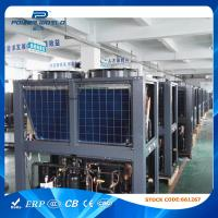 China 30kw Air Source Heating And Cooling Heat Pump R407C Refrigerant , High Level Of Protection on sale