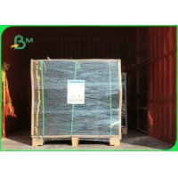 160gsm - 400gsm 100% Wood Pulp Black Cardboard For Gift Boxes Packaging Manufactures
