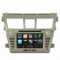GPS Car Navigation System with In-dash DVD Player for Toyota, Supports Bluetooth Manufactures
