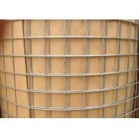 0 . 9m Galvanized Welded Wire Sheets , Rabbit Cage Square Welded Wire Fabric Manufactures