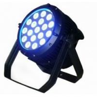 320w DMX512 mode 8chs 18X10W 4in1 Led Par Stage Lighting Systems  Manufactures