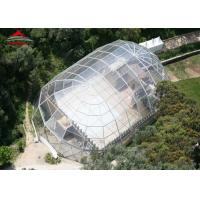 Transparent Mix Structure 500 People Outdoor Party Tent For Temporary Catering Manufactures