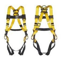 Outdoor Full Body Climbing Harness , Polyester Fall Protection Safety Harness Manufactures