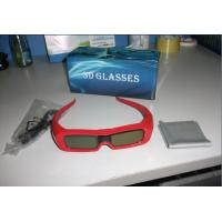 USB Rechargeable Universal 3D Active Shutter Glasses 120Hz 1.5mA CE FCC Manufactures