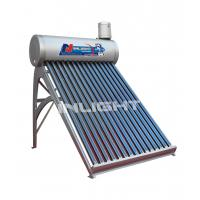 250L anticorrosive PVDF coating low pressure vacuum tube solar water heater
