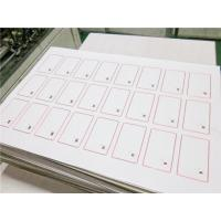 Ultralight 0.3mm TK4100 ID 13.56Mhz Smart RFID Card Inlay /  inlay customized Manufactures