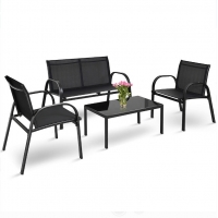 Sofa Coffee Table Steel Frame KD Garden Deck Outdoor Furnitures Manufactures