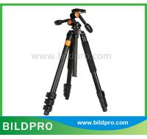 China BILDPRO Adjustable Flexible Tripod Digital Camera Accessory Photographic Tripod Pan Fluid Head on sale