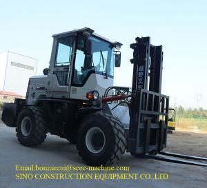 3000mm 3.5T Diesel Forklift Truck For Urban Construction Sites Manufactures