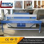 professional European acrylic kitchen cabinet door vacuum membrane press machine Manufactures