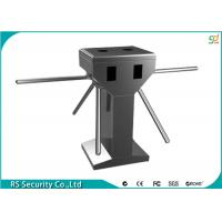 China Automatic Tripod Turnstile Gate,304 Stainless Steel Turnstyle For Bus Station Access on sale
